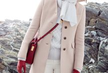 light beige coat