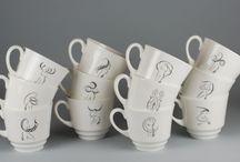 Zodiakalne prezenty / zodiacal gifts / Porcelanowe filiżanki June II ze wszystkimi znakami zodiaku  Porcelain June II cups with all Zodiac signs