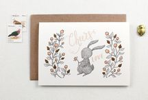 Whimsy Whimsical Stationery / Paper goods inspired by woodland and hand drawn by Yee Von :)