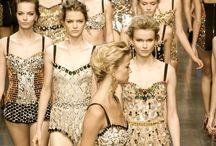 The fashion world