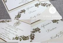 Foiled Wedding Invitations & Stationery | Leonie Gordon London