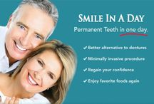 Teeth in a Day / Do you have bad teeth that are causing you pain and discomfort?  You can have new teeth in as little as one day.  See how one day can make a big difference in your life!  Call us at 780 962-5538 to find out more