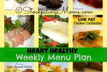 Heart-healthy Foods/Menus