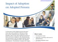 Senior Project - Adoption Research Paper / 2013