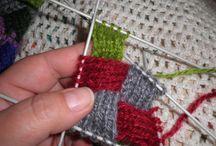 необычные техники вязания