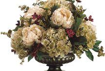 Композиция искусственные цветы