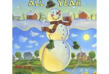 Snowmen book series activities