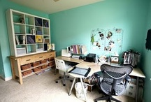 Crafty Spaces & Organization / by Scrapbook Circle