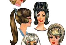 vintage ladies illustrated