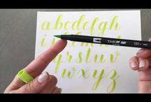 Tombow brush ideas