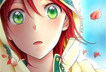 Shirayuki aux cheveux rouge