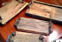 Chopping boards & stable tables