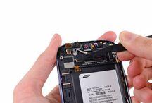 Sustitución de la cámara frontal del Samsung Galaxy S3 / Para sustituir la cámara frontal del Galaxy S3, siga los pasos indicados.