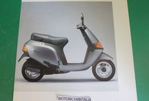 Piaggio depliant brocure vespa scooter