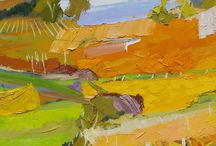 Abstract/Semi-Abstract / Abstract/free-form paintings, painters