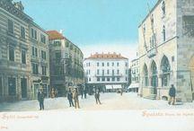 Split – stare razglednice iz fonda Grafičke zbirke NSK / Stare razglednice Splita iz fonda Grafičke zbirke Nacionalne i sveučilišne knjižnice u Zagrebu.