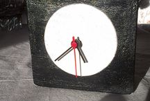 Concrete clocks - my works