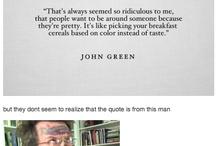 John Green stuff