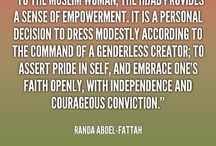 Islamic Quotes / Reposting Islamic clothing quotes :)