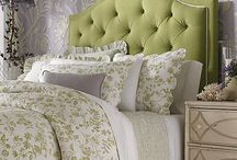 Linens and Bedding / by Ginger Thomas Designs - Artist