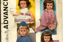 Doll Patterns / by Shirley Childers