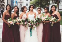 Wedding: Bridesmaids & Groomsmen / by Chelsea Wright