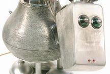 ROBOTS y PERSONAJES / Esculturas de ROBOTS !! y MUÑECOS