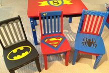 Children's table and chair designs