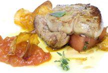 recetas / recetas con foie gras, foie micuit, magret de pato o confit de pato.