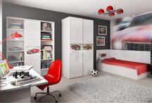 AUTOMOBILI - kolekcja mebli młodzieżowych / Kolekcja stworzona z myślą o fanach motoryzacji.