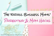 Parenting & Mom Hacks (Group Board) / Tips, tricks & hacks on making the most of life as a Mom. From Parenting tips, Toddler activities & early learning to organisation, Mom wellness and everything in between. If you would like to contribute, please follow me (@badassbizmums) and email your request to laura(at)badassbusinessmums(dot)com.