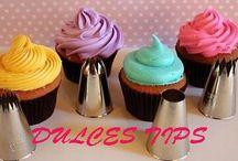 Dulces Tips / Tips y datos acerca de la pastelería