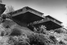Richard Neutra  / The Stone/Fisher Platform House, 1961, Coldwater Canyon.