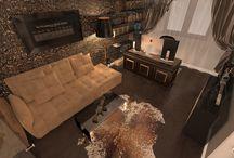 Office Interior Design - Male Version - Valentina Badeanu