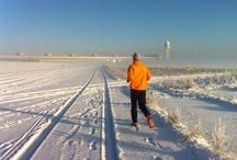 run airport winter
