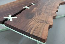 Dining tables / This board is all about dining tables. It contains pins which feature main wooden dining tables of different sizes, style and constructions. All of them with beautiful designs.