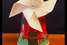 Windmill Crafts / All sorts of Windmill crafts for kids