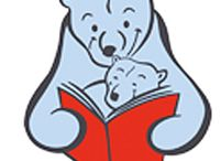 Bookstart Bear / I was asked to design and illustrate the Bookstore logo back in 1999, great to still it going strong.
