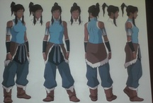 Legend of Korra commission references / by Crystal Reed