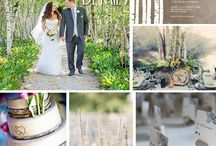 * WOODLAND WEDDING * / Create a rustic, woodland wedding with special attention to detail / by Zazzle