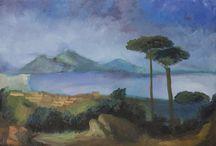 Paesaggi / Ecco alcuni paesaggi che ho realizzato ad olio su tela. Se ti piace il mio stile e vuoi vedere altri quadri come questi visita il mio sito www.mclino.com