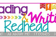 A Tribute to the Reading and Writing Redhead, Teacher, & Reading Specialist / The Reading & Writing Redhead is a 2nd grade teacher, reading specialist, dog lover, blogger, pinner, reader, writer, & redhead who loves sharing her creations & what inspires her about teaching with other educators! With 17 years of teaching experience she enjoys the excitement & preparation going back to school always creates. She's prepared some great reads for teachers as you get ready to go back to school! See what she has to offer.