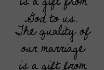 Marriage Quotes / Quotes of love and marriage that you'll fall head over heels for! Maybe they can work their way into your vows? Decor? Invitations?
