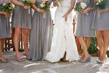 Grey wedding detail / Grey wedding ideas including bespoke wedding stationery