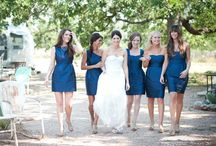 Bridesmaids / Board for me (the bride) and my 10 bridesmaids to add ideas for anything wedding related, but especially visuals for the dresses. Colors: Marine & Clover. / by Becca Fairchild