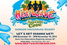 HEATWAVE Chicago / A new private LGBT coming to Chicago November 15th, 2014. 24 hour private party at Key Lime Cove resort & indoor water park!  5 dj's and lots of water and fun!