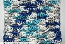 v-stitch dishcloth