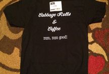 Cabbage Rolls and Coffee T Shirt / Cabbage Rolls and Coffee, mm mm good!