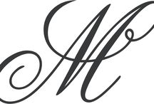 калиграфия монограммы