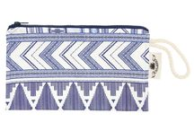 SS17: PASSEPARTOUT POUCH / The perfect summer pochette! Striking prints outside to match your mood. Soft towel inside.